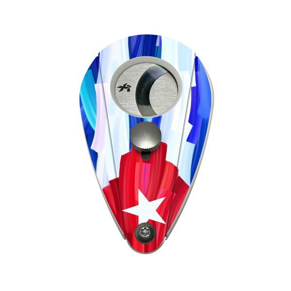 Xikar Cutter Xi2 Turano Series Kunststoff Cuban Flag