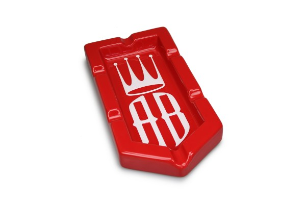 Alec Bradley Aschenbecher Badge rot