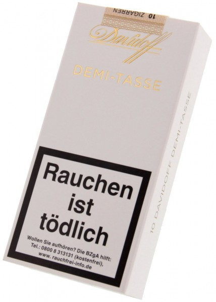 Davidoff Cigarillos Demi - Tasse