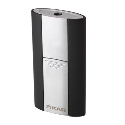 Xikar Single Jet Stratosphere Flash Black
