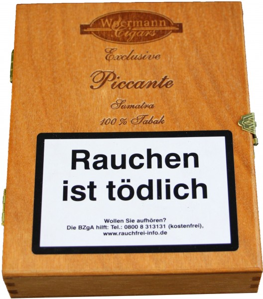 Woermann Cigars Exclusvie Piccante Sumatra