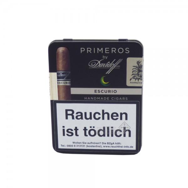 Davidoff Primeros Escurio ist perfekt für den kurzen Rauchgenuss