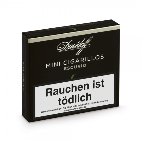 Davidoff Mini Cigarillios Escurio