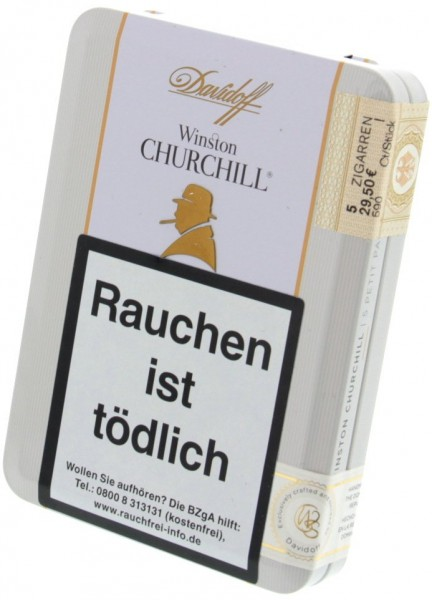 "Davidoff Winston Churchill Petit Panetela ""The Raconteur"""