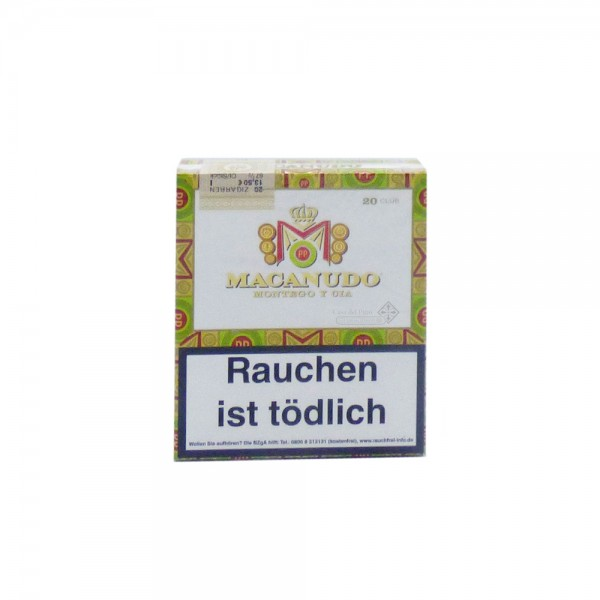 Macanudo Club Cigarillos