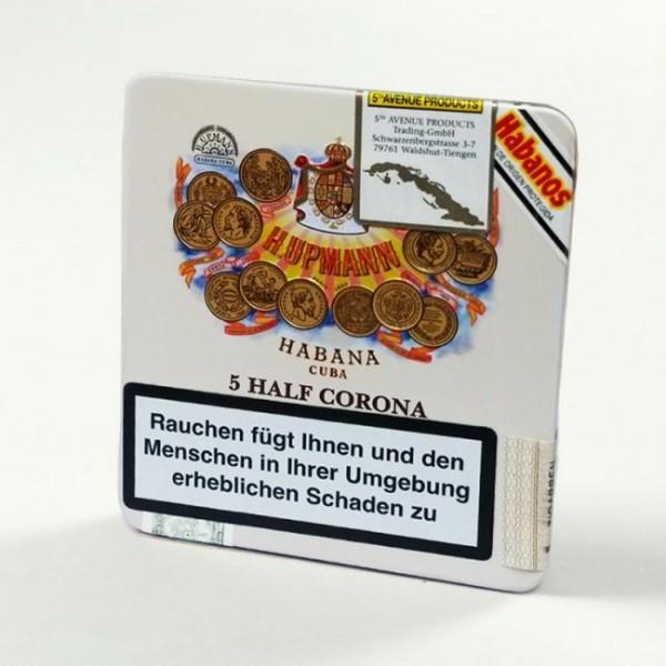 H. Upmann Half Coronas 5er Blechschachtel