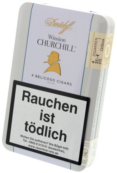 "Davidoff Winston Churchill Belicoso ""The Traveler"""