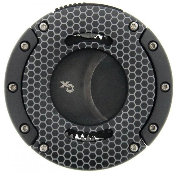Xikar Cutter XO Honeycomb Black mit schwarzen Klingen